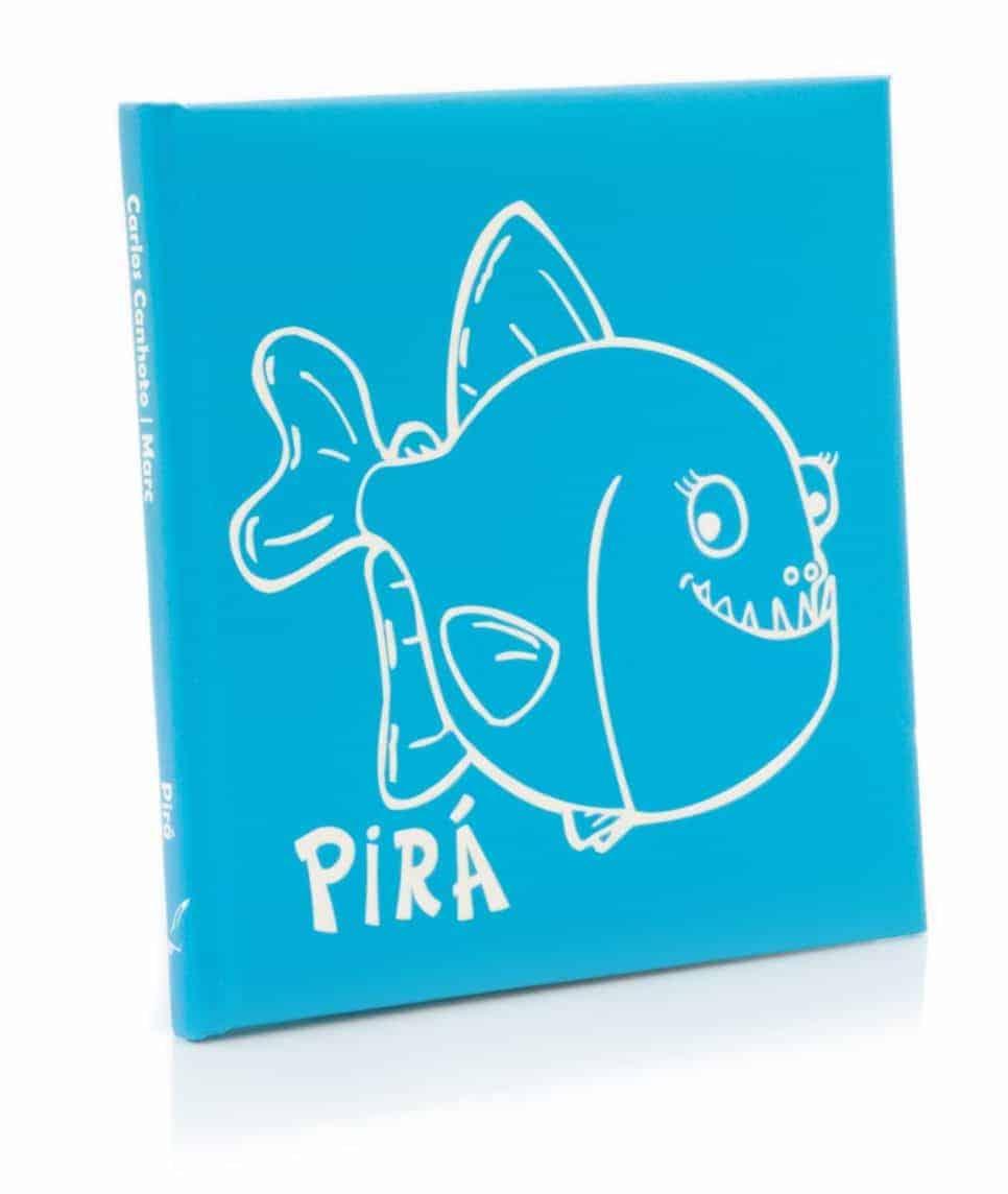 Capa da Pirá - Livro Infantil