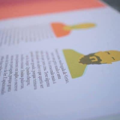 Página dos autores do livro Onde Moram as Coisas
