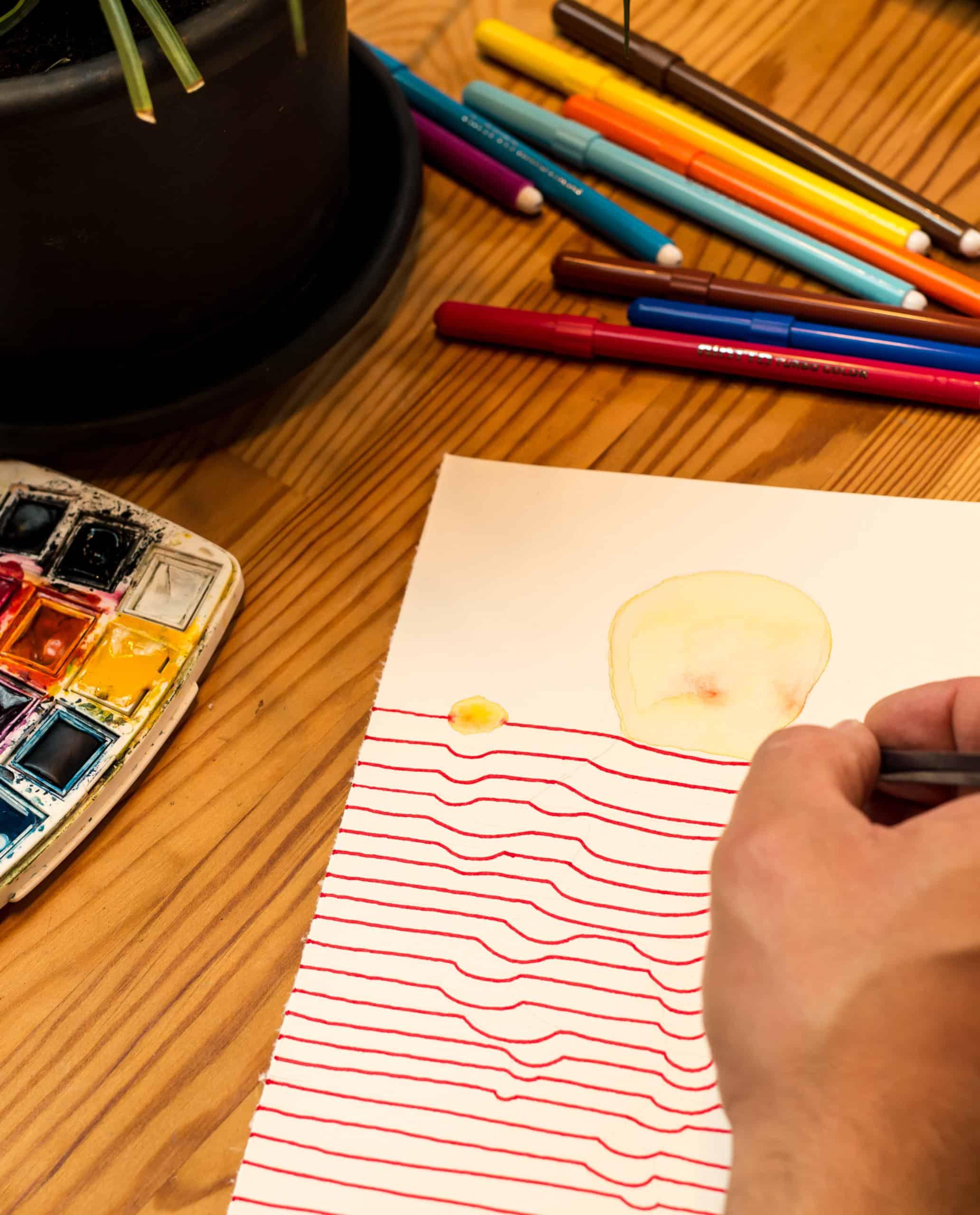 Aulas de Desenho à Distância