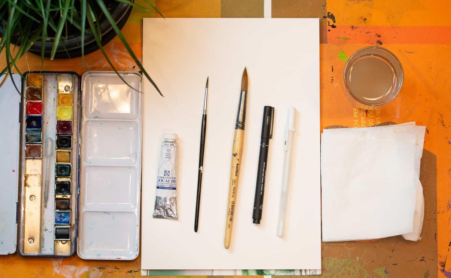 Lápis de Cera para desenho à distância