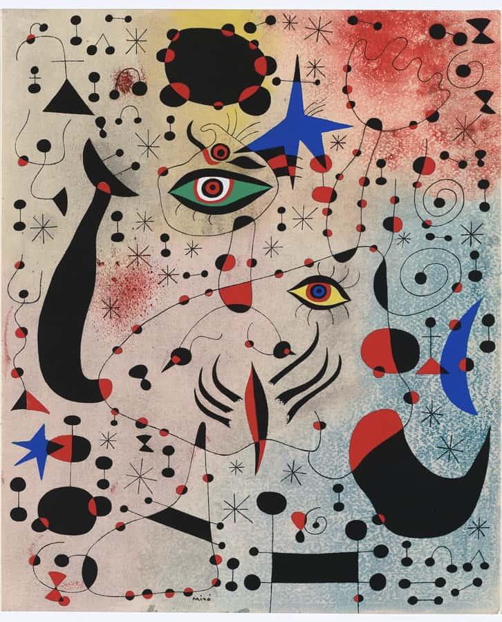 Constelações de Joan Miró